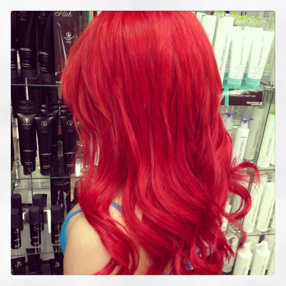 Microbead red hair extensions yelp photo of another wild hair las vegas nv united states microbead red pmusecretfo Choice Image