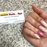 We Photo Of Sunshine Nails U0026 Spa   Winter Garden, FL, United States.