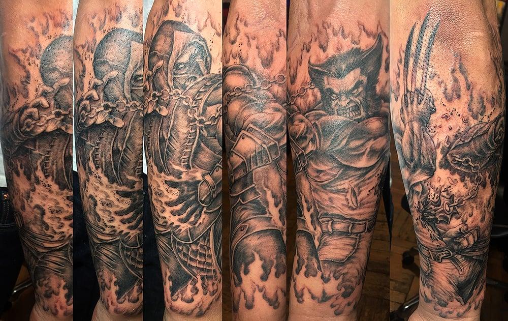 Dude's Tattoos * Bronx: 215 E Gun Hil Rd, Bronx, NY
