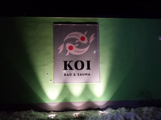 Koi bad sauna saunas kaiserslauterer str 19a for Koi pool and sauna