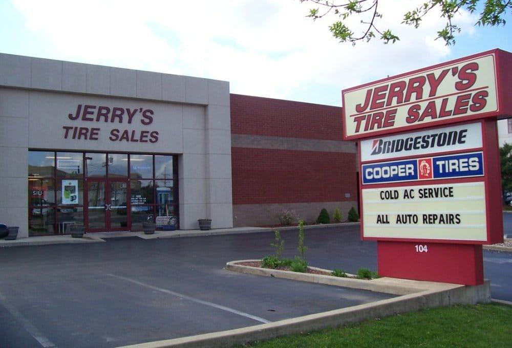 Jerry's Tire Sales: 104 W Vandalia St, Edwardsville, IL
