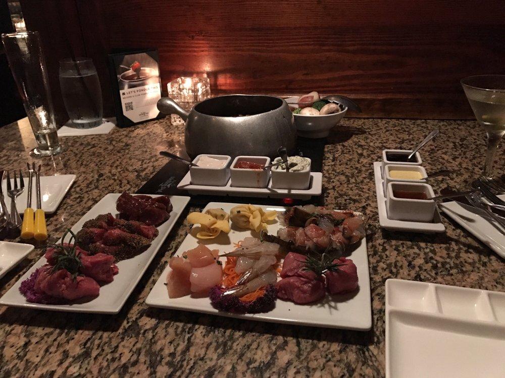 Food from The Melting Pot - Cincinnati