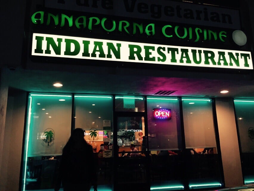 Exterior yelp for Annapurna cuisine