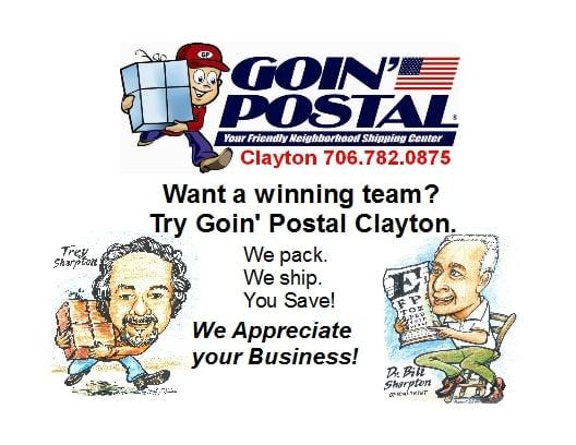 Goin' Postal: 74 Rickman St, Clayton, GA