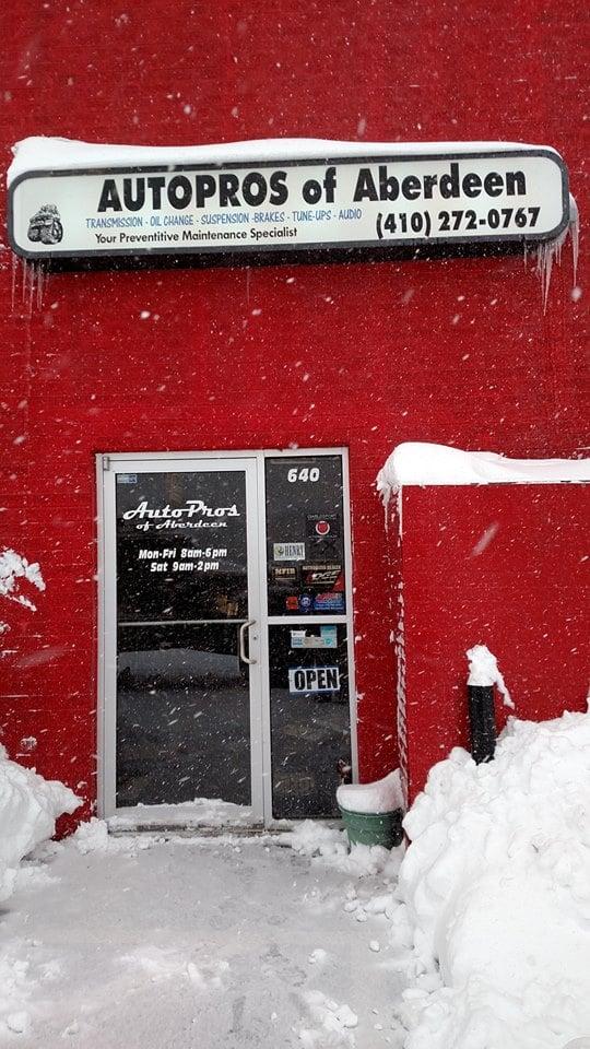 AutoPros of Aberdeen: 640 S Philadelphia Blvd, Aberdeen, MD