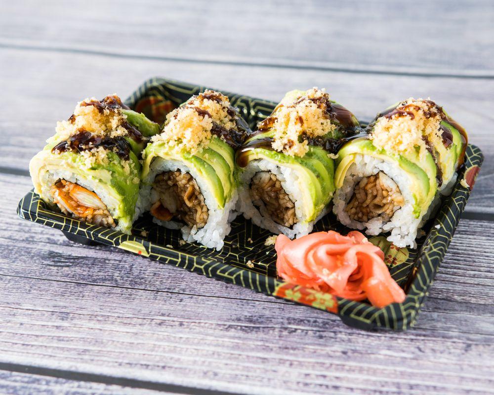 Sushi Pie: 295 Burnside Ave, Lawrence, NY