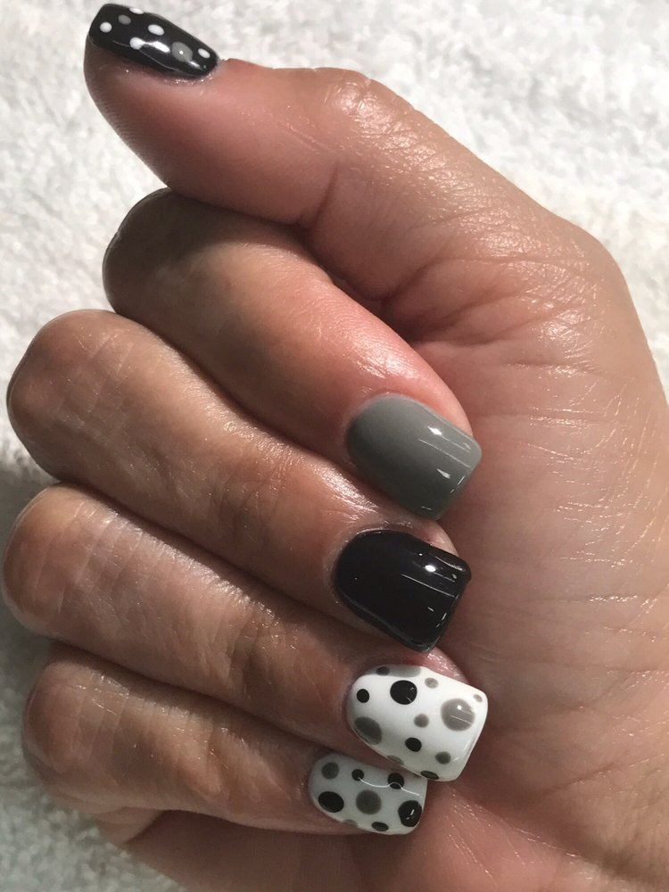 Yusi never disappoints! Transforms my nails from one design to the ...