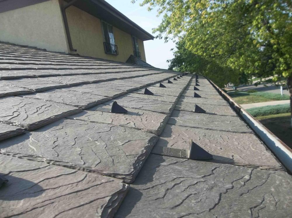 Davinci bellaforte slate synthetic composite specialty for Davinci slate roof reviews