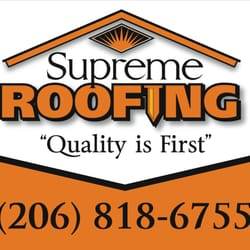 Awesome Photo Of Supreme Roofing   Bothell, WA, United States