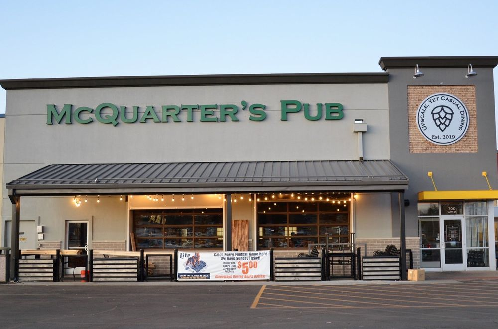 McQuarter's Pub: 700 Broadway Ave E, Mattoon, IL