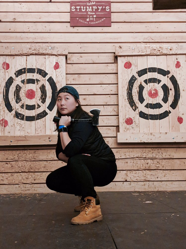 Social Spots from Stumpy's Hatchet House Fairfield - Axe Throwing