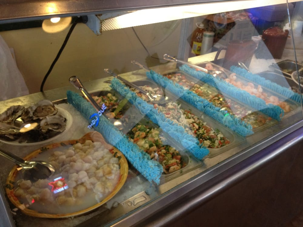 Ceviche station yelp for San pedro fish market and restaurant