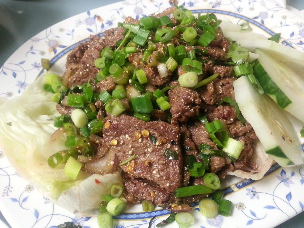Thai beef salad yelp for At siam thai cuisine