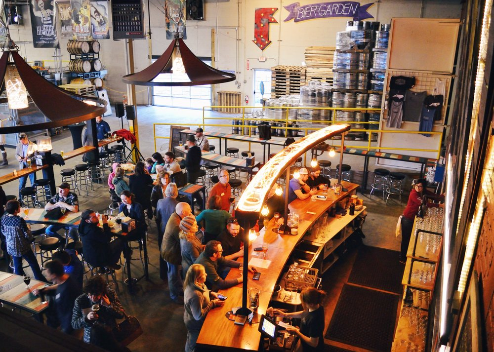Hi-Wire Brewing: 2A Huntsman Pl, Asheville, NC