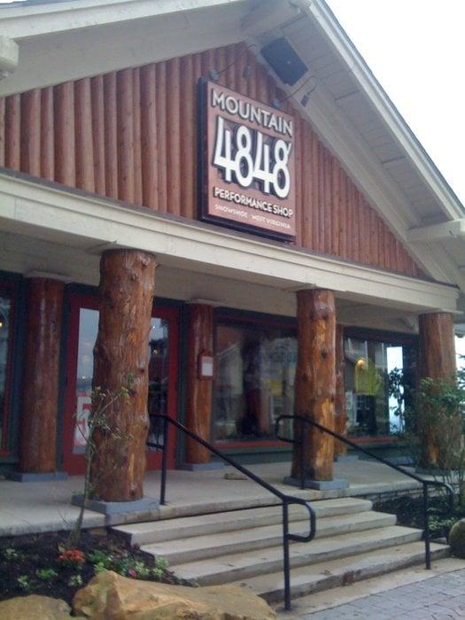 4848' Mountain Performance Shop: Brigham Ctr, Snowshoe, WV