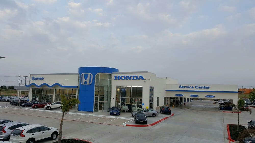 Sames Honda Car Dealers 6310 Bob Bullock Lp Laredo Tx Phone