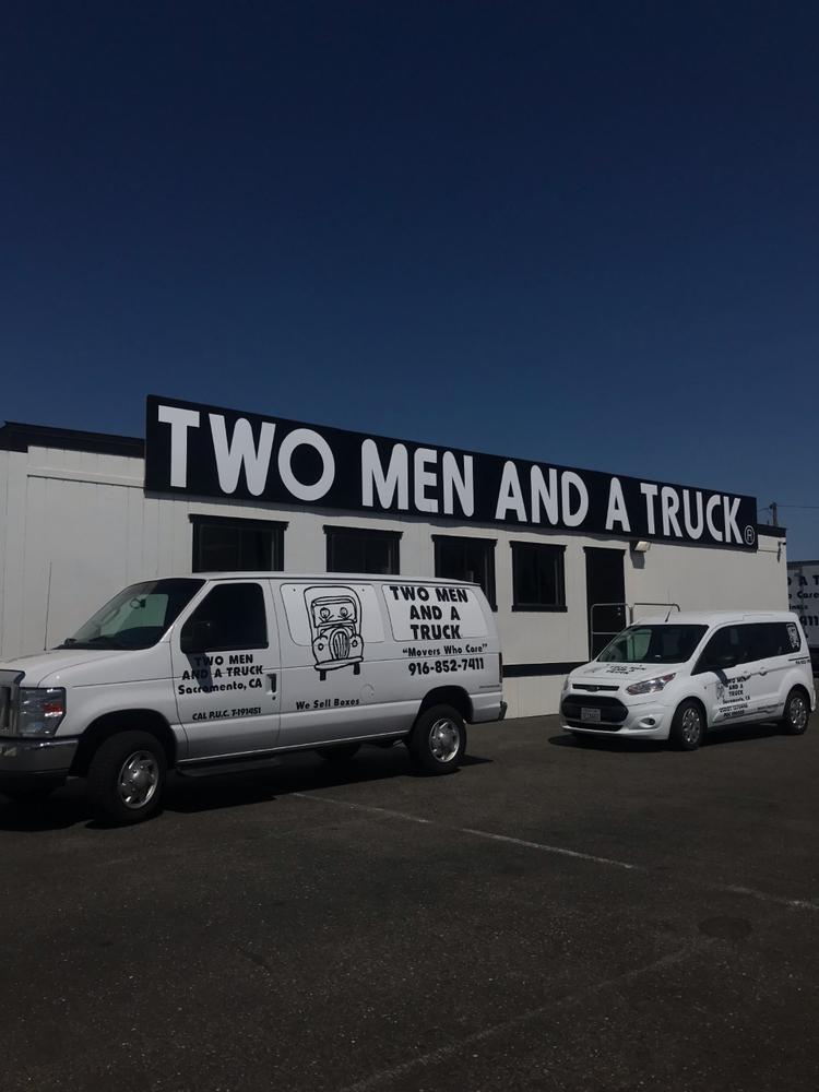 Two Men and a Truck Sacramento: 8362 Galena Ave, Sacramento, CA