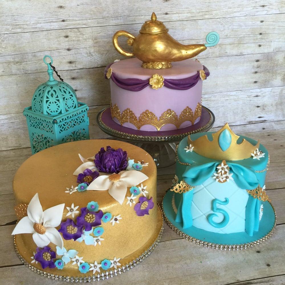 """Aladdin """"Princess Jasmine"""" Inspired Cakes"""