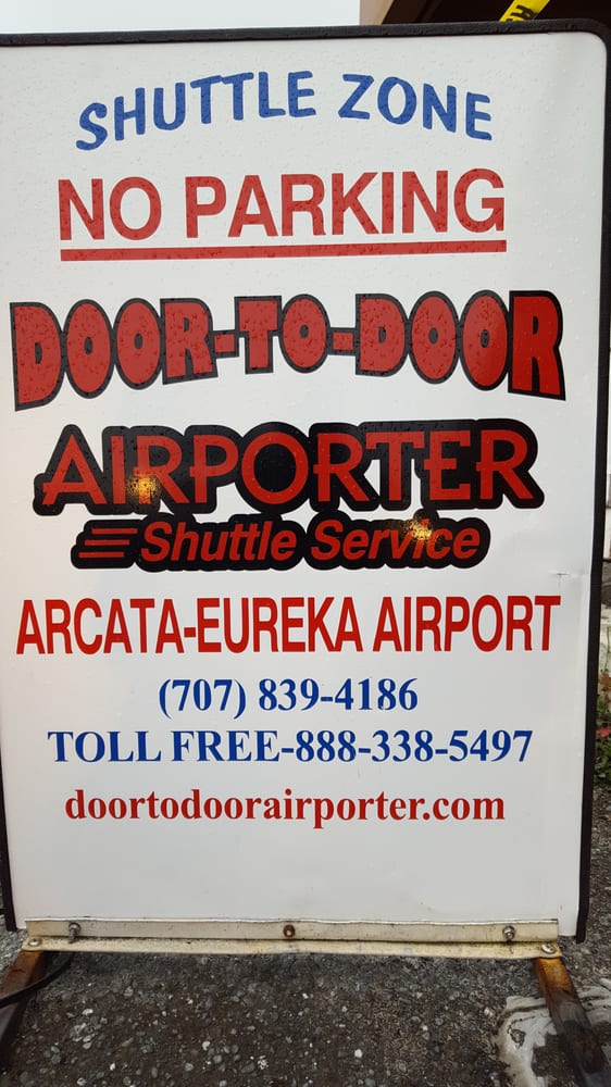 Door-To-Door Airporter: 1434 Railroad Dr, McKinleyville, CA