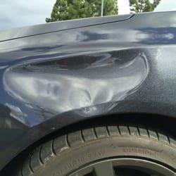 Audi A4 Fender Dent Repair