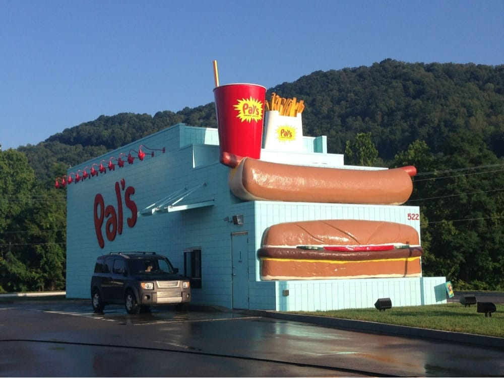 Pal's: 522 Jonesborough Rd, Erwin, TN