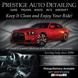 prestige auto detailing 12 reviews valeting 4630 e 96th st indianapolis in united. Black Bedroom Furniture Sets. Home Design Ideas