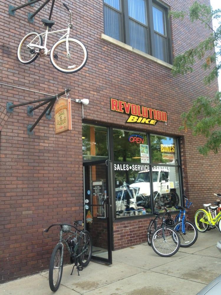 Revolution Bike: 102 Antrim St, Charlevoix, MI