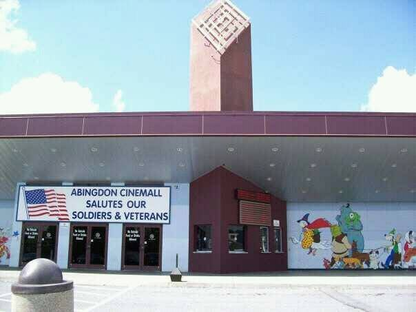 Abingdon Cinemall Movie Theaters: 721 E Main St, Abingdon, VA