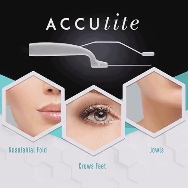 We offer Embrace RF procedures: Accutite, Facetite, Bodytite
