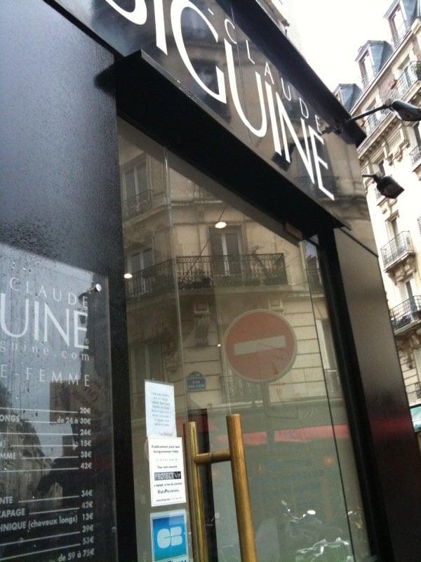 Jean claude biguine coiffeurs salons de coiffure 23 - Au salon rue daguerre ...