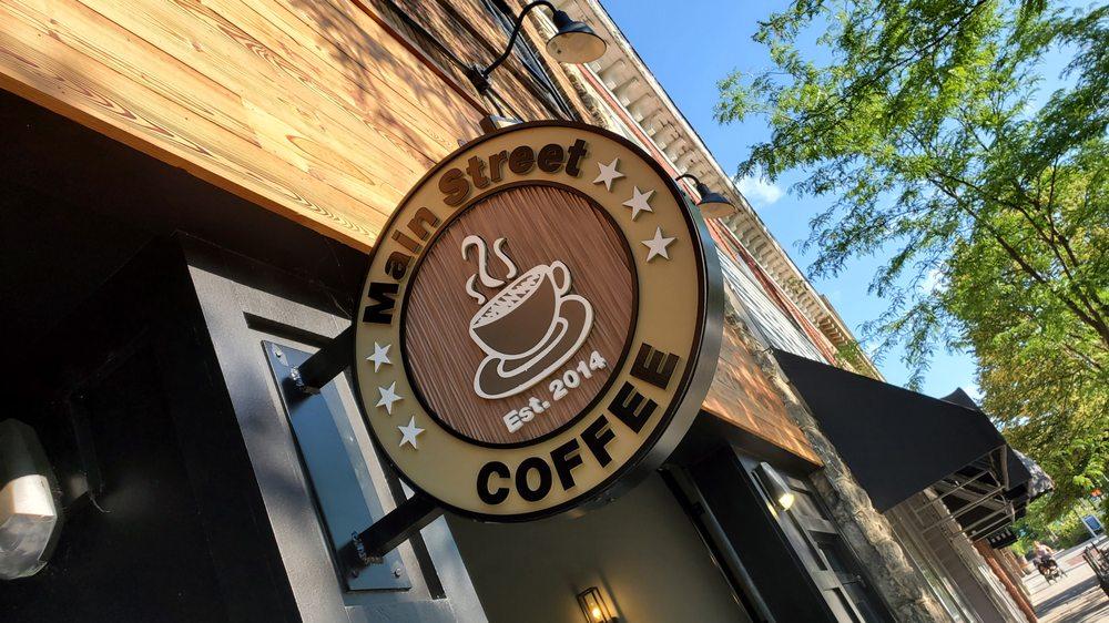 Main Street Coffee: 425 N Main St, Hendersonville, NC