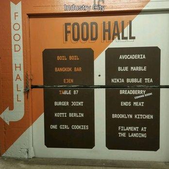 Industry City Food Hall  Th St Brooklyn Ny