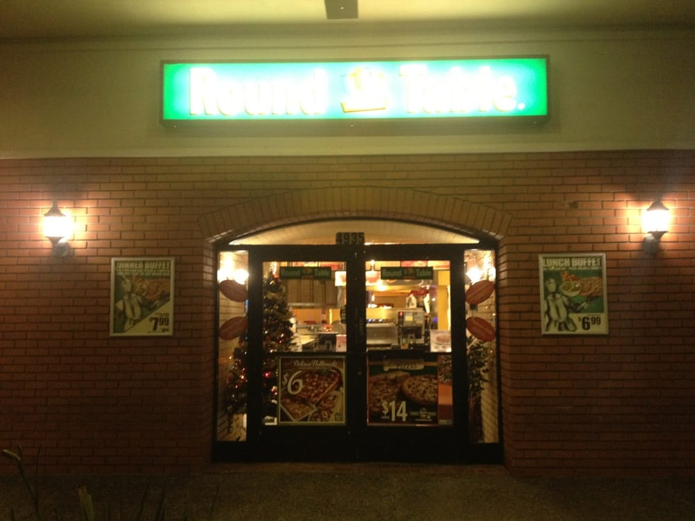 colma round table pizza entrance - yelp