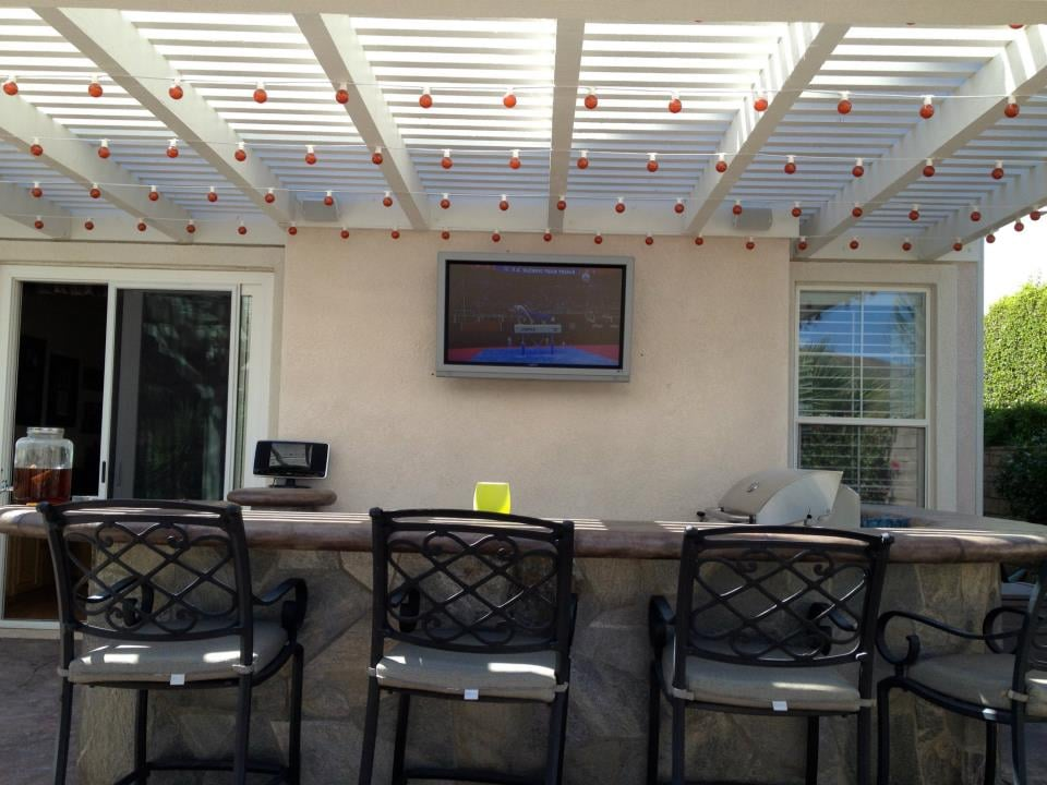 Photo Of Ben Wolf Electric   Simi Valley, CA, United States. Backyard Patio