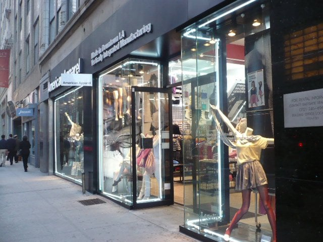 American Apparel Men S Clothing Upper West Side New