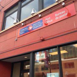 Canada post oficinas de correos 709 yates sreet for Telefono oficina de correos