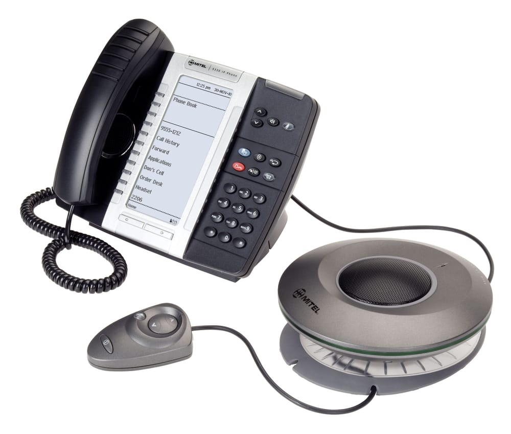 Mitel S 5330 Ip Phone With The 5310 Conference Add On Is Perfect For
