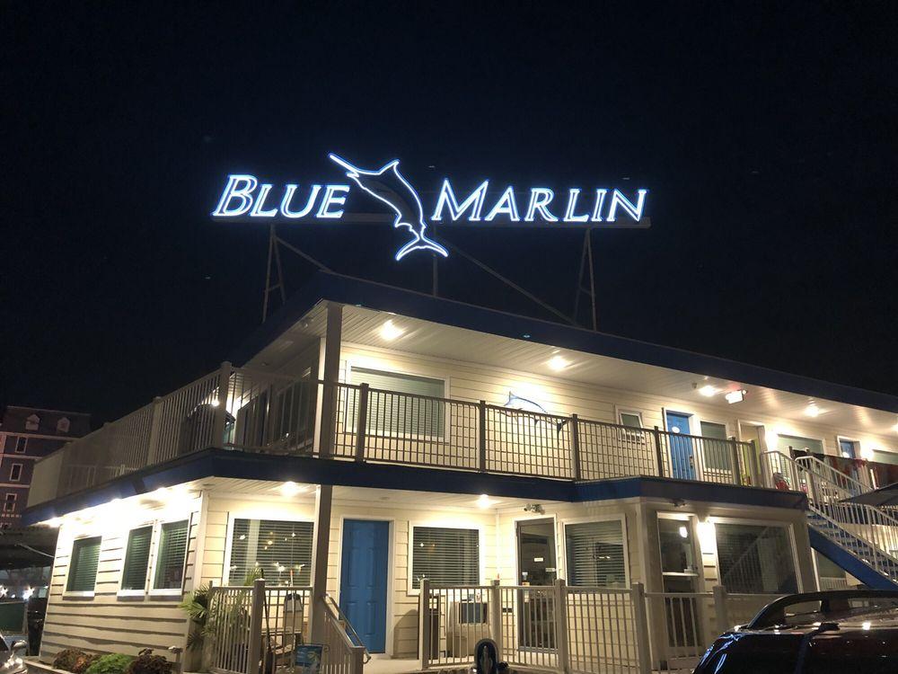 Motel Blue Marlin: Atlantic Ave & Toldo, Wildwood, NJ