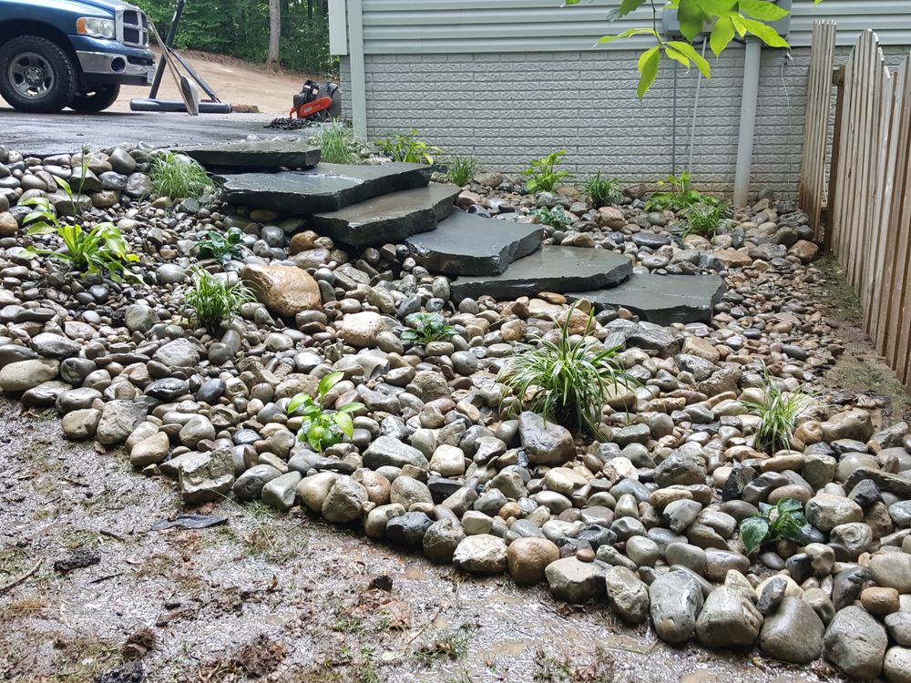 Rock Garden With Steps Leading To The Play Area Yelp
