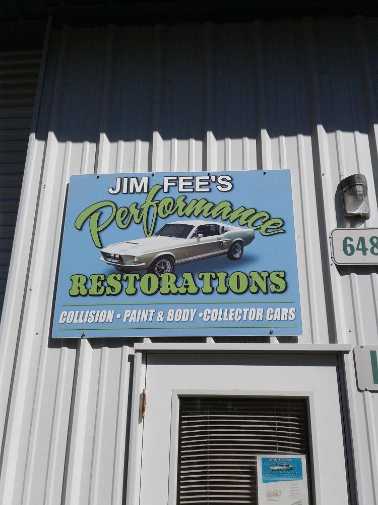 Jim Fees Performance Restorations: 1788 Choctaw Rd, Copperopolis, CA