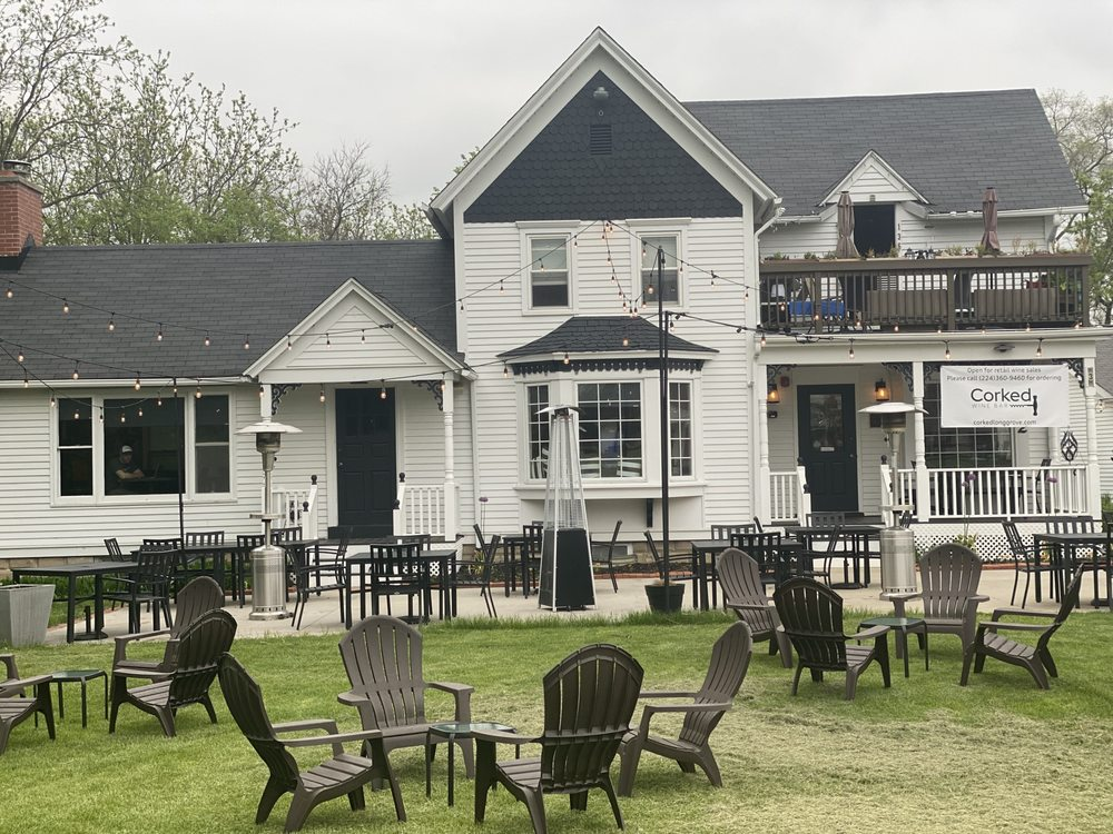Corked Wine Bar: 132 Old McHenry Rd, Long Grove, IL