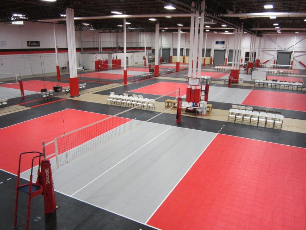 Virginia Volleyball Center: 45685 Oakbrook Ct, Sterling, VA