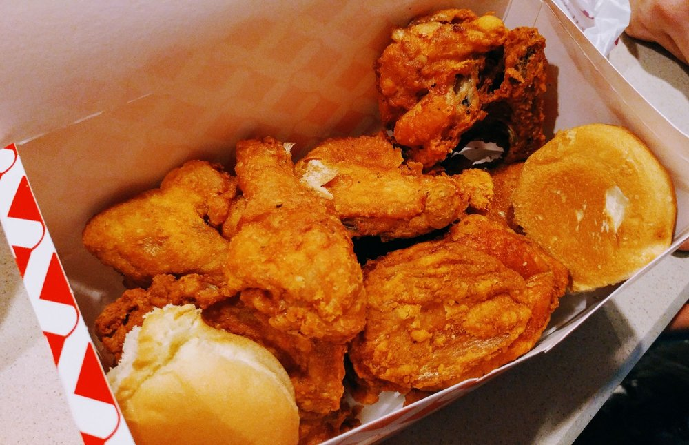 Food from Crown Chicken & Fish