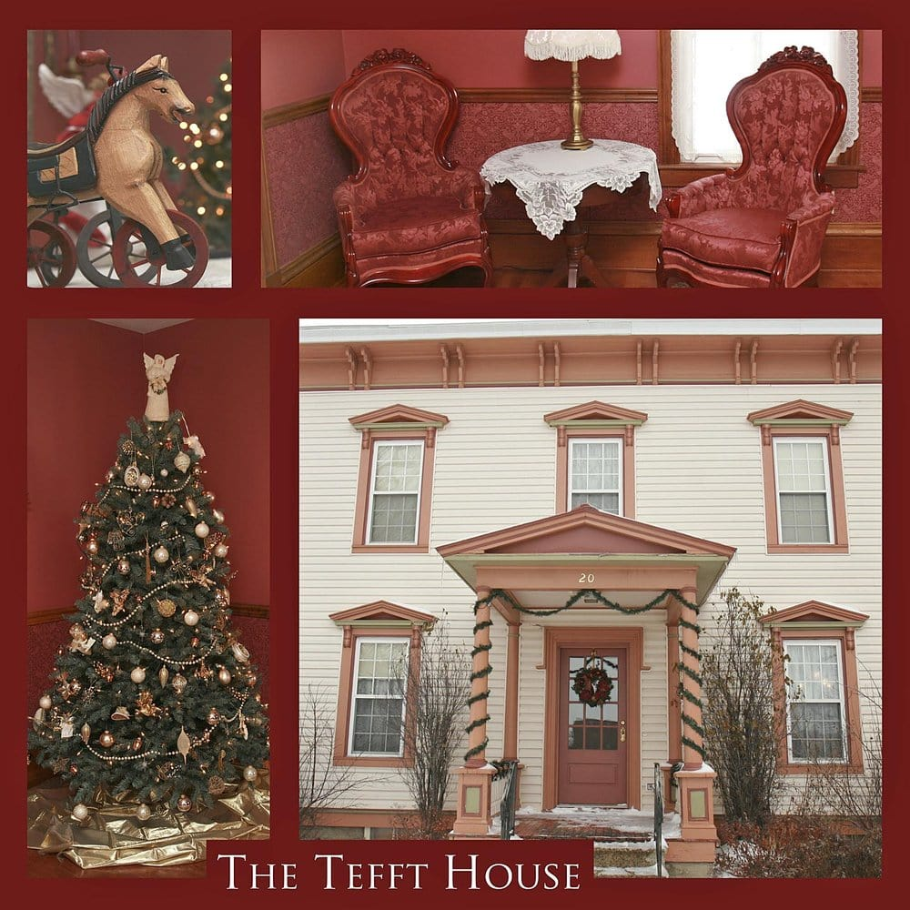 The Tefft House: 20 W Broadway, Plainview, MN