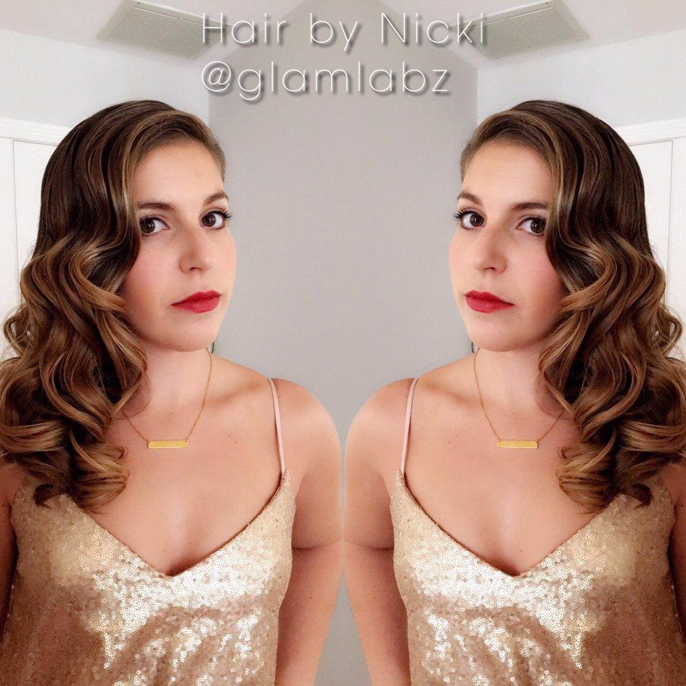 Hair by Nicki J at Glamlabz: 220 Norwich New London Tpke, Uncasville, CT