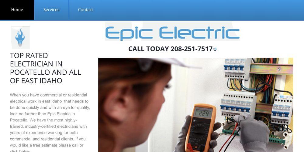 Epic Electric: 11751 Cumberland Rd, Pocatello, ID