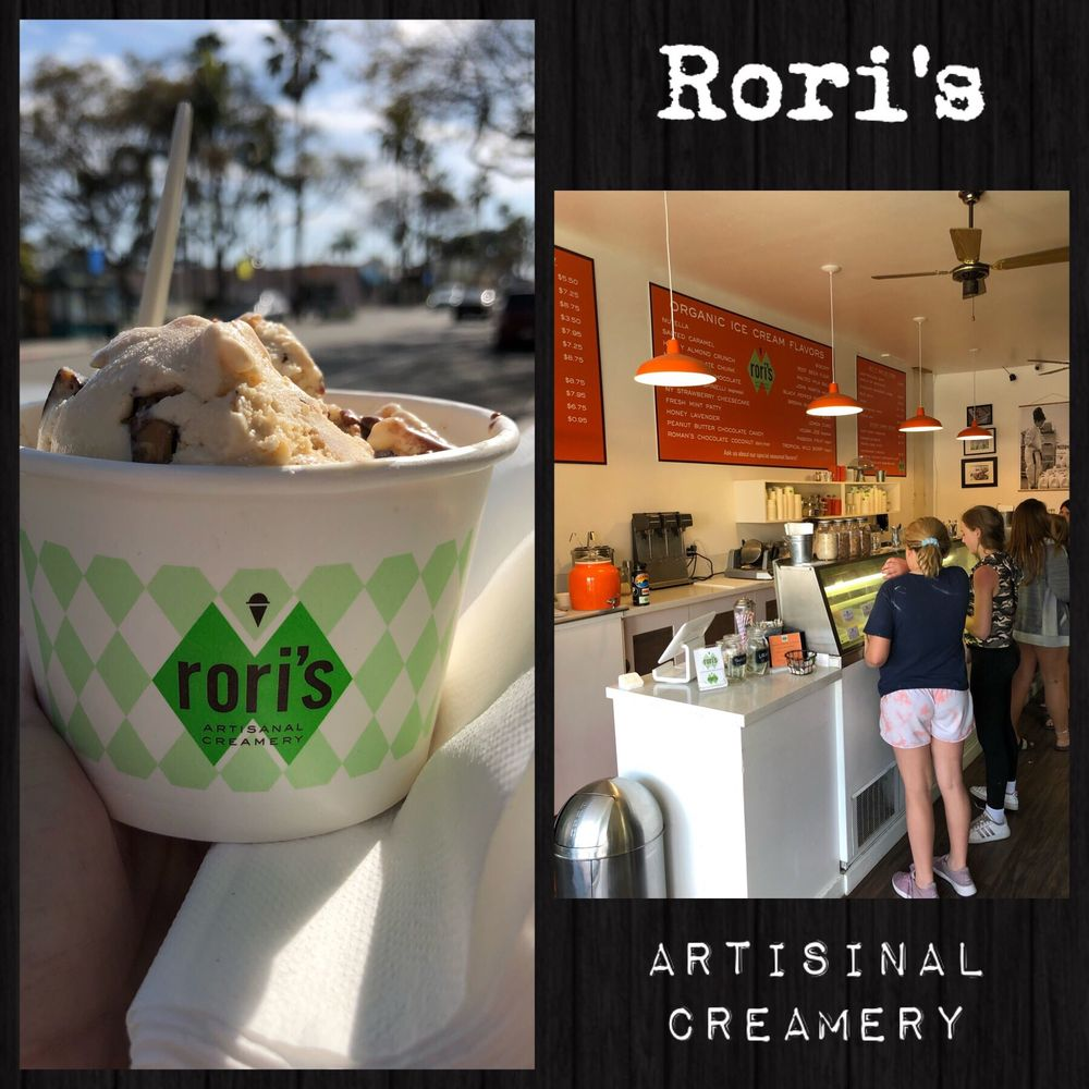 Rori's Artisanal Creamery: 751 Linden Ave, Carpinteria, CA