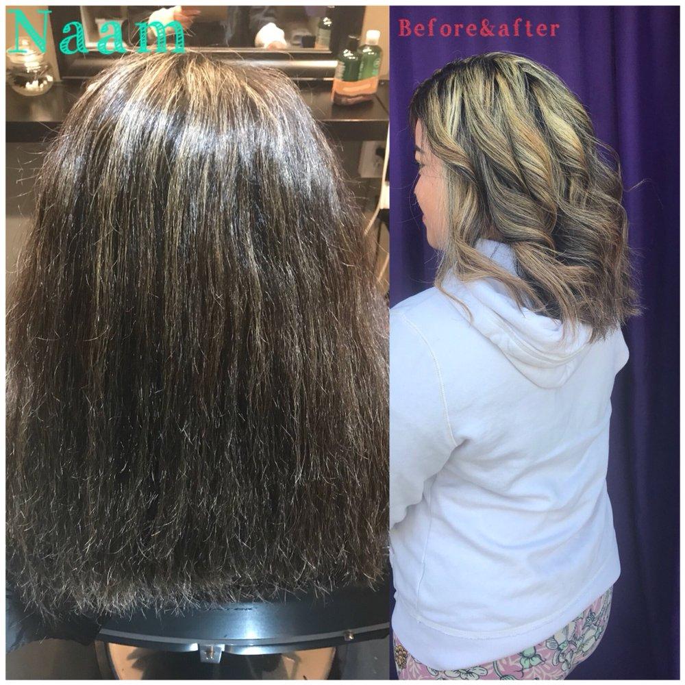 Summer Hair Highlights By Naam At Natchaya Salon Call To Make Your