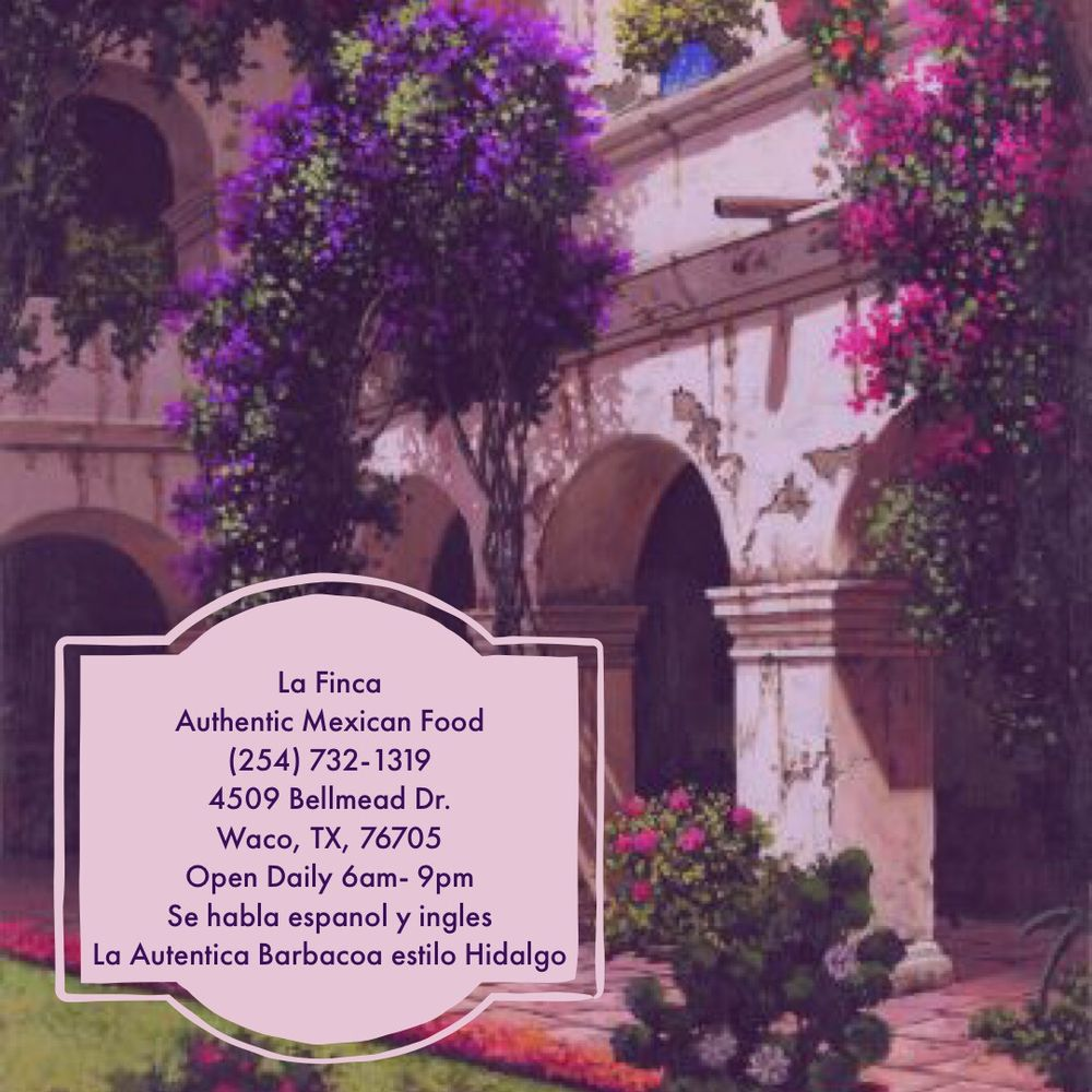 La Finca Mexican Resturant: 4509 Bellmead Dr, Waco, TX