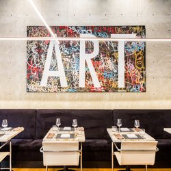 Photo Of Bauhaus Restaurant   Vancouver, BC, Canada. U0027ARTu0027 By Corey. U0027